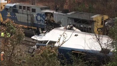 صورة حادث قطار ساوث كارولاينا حديث وسائل التواصل الاجتماعي