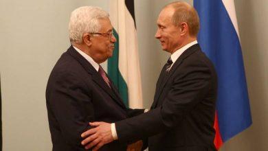 صورة عباس في روسيا للبحث عن دعم في مواجهة قرار واشنطن بشأن القدس