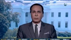 صورة الإعلامي عاطف عبد الجواد لراديو صوت العرب من أمريكا …  يجب على الجميع العمل على تنفيذ وقف اطلاق النار