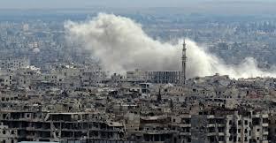 صورة راديو صوت العرب يحاور ضيوفه ويجيب على السؤال الصعب : ماذا بعد وقف إطلاق النار في الغوطة