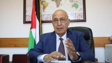 صورة د نبيل شعث: نريد من الزعماء العربشبكة أمان مالية عربية