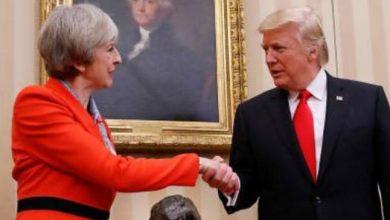 صورة الرئيس الأميركي يبدأ زيارة رسمية لبريطانيا وسط توترات سياسية