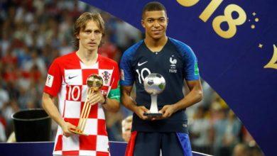 صورة قائمة أفضل لاعبي كأس العالم … مودريتش ..مبابي .. هاري كين .. كورتو
