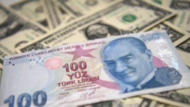 صورة هبوط قياسي لليرة التركية أمام الدولار الأميركي