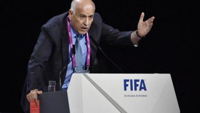 صورة الفيفا يوقف رئيس الاتحاد الفلسطينى عاما بسبب مباراة الأرجنتين وإسرائيل