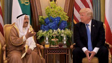 صورة أمير الكويت يقوم بزيارة رسمية للولايات المتحدة يلتقي خلالها ترامب