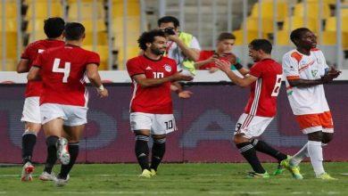 صورة صلاح يتألق ويقود منتخب الفراعنة لفوز كبير على النيجر 6-0