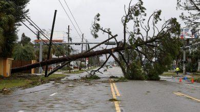 الإعصار مايكل بضرب فلوريدا ، ويتسبب في مصرع شخص