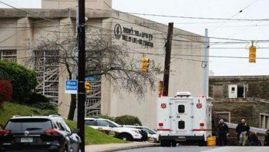 صورة تداعيات الهجوم على المعبد اليهودي في ولاية بنسلفانيا الأميركية ..مستمرة