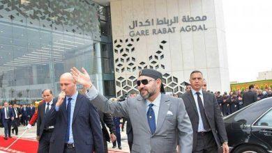 صورة افتتاح محطة قطارات ضخمة في المغرب