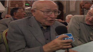 صورة وفاة مؤلف النشيد الوطني المغربي ..الشاعر علي الصقلي عن 86 عاما