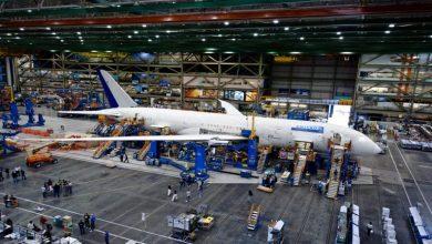 صورة افتتاح أول مصنع للطائرة بوينج 737 في الصين