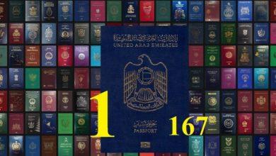 صورة طبقًا لأحدث تصنيف : جواز السفر الإماراتي يصعد إلى المركز الأول عالميا