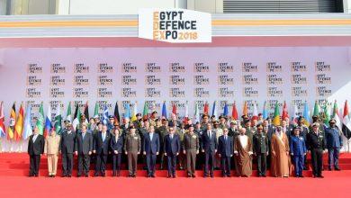 """صورة إقبال كبير على معرض """"إيديكس 2018"""" للصناعات الدفاعية والعسكرية بالقاهرة"""