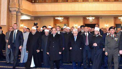 صورة مصر : افتتاح أكبر مسجد وكنيسة في الشرق الأوسط بالعاصمة الإدارية الجديدة