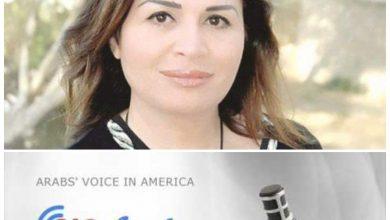 صورة إلهام شاهين تطل على محبيها بأمريكا عبر راديو صوت العرب