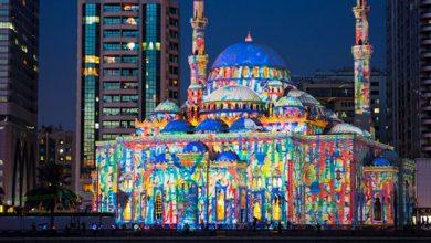صورة مهرجان أضواء الشارقة بدبي :تعزيز مكانة الإمارة على خريطة السياحة العالمية