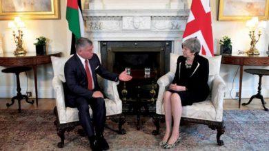 صورة مؤتمر لندن : فرنسا تقدم مليار يورو للأردن فى صورة قروض ومنح