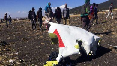 صورة كارثة جوية : تحطم طائرة ركاب إثيوبية خلال رحلة لنيروبى ومصرع جميع ركابها