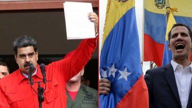 مئات العسكريين يتخلون عن حكومة مادورو وأمريكا تعاقب مقربين منه