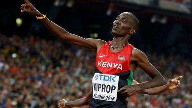 صورة إيقاف البطل الكيني كيبروب بسبب المنشطات