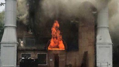 """صورة مسئول أمريكي: إضرام النيران في مسجد """"نيوهيفن"""" كان متعمدًا"""