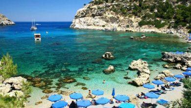 صورة أول شاطئ بلا تدخين في اليونان