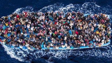 صورة وفاة 57 شخصًا بعد غرق سفينة قبالة ساحل موريتانيا