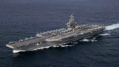 إيران: حاملة الطائرات (أبراهام لنكولن) ابتعدت عن سواحلنا