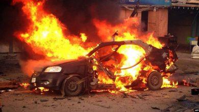 صورة مقتل 4 فى انفجار سيارة مفخخة استهدفت دورية للجيش الهندى بكشمير
