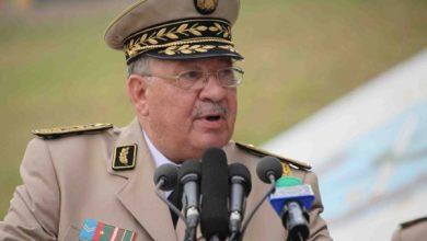 صورة وفاة رئيس الأركان الجزائري أحمد قايد صالح