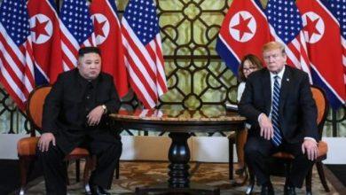 صورة ترامب يقترح لقاء كيم في المنطقة المنزوعة السلاح بين الكوريتين