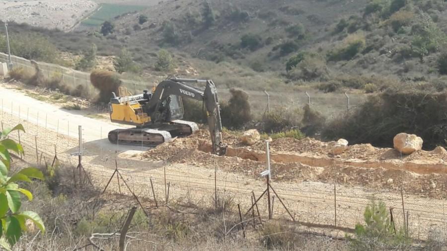 انفجار لغم أرضي بآلية إسرائيلية على حدود لبنان