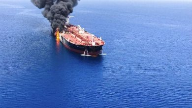 صورة الجيش الأمريكي: الهجوم على الناقلة اليابانية تم بلغم بحري مشابه للألغام الإيرانية