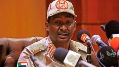 حميدتي رئيسا للجنة التواصل مع الحركات المسلحة في السودان