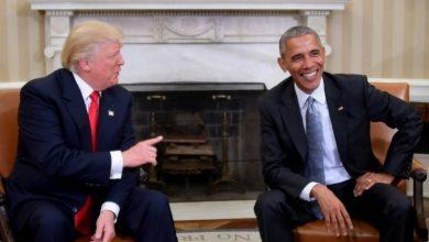 صورة ترامب ينتقد الرئيس السابق أوباما بسبب التكييف