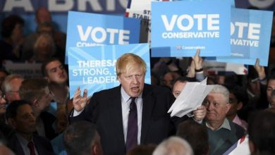 جونسون يلغي حملته الانتخابية على خلفية حادث الطعن بلندن