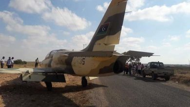 صورة تونس توضح ملابسات الهبوط الاضطراري لطائرة حربية ليبية على أراضيها