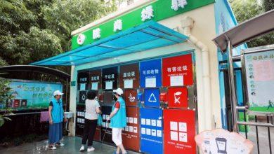 فرز القمامة في الصين باستخدام الذكاء الاصطناعي