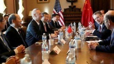 """صورة توقف المحادثات التجارية بين واشنطن وبكين بسبب """"هواوي"""""""