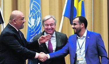 صورة المبعوث الأممي لليمن: النزاع قابل للحل السلمي واتفاق ستوكهولم أساسي