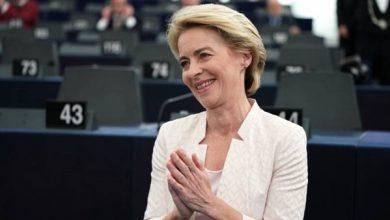 صورة الألمانية أورسولا فون دير لايين أول امرأة تترأس المفوضية الأوروبية