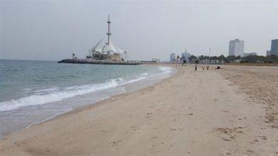 صورة العثور على أمريكي في بحر الكويت بعد ساعات من فقدانه