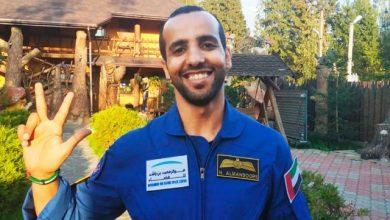 صورة أول رائد فضاء إماراتي يستعد لرحلة المحطة الدولية