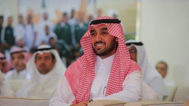صورة عبدالعزيز بن تركي الفيصل رئيسًا للاتحاد العربي لكرة القدم