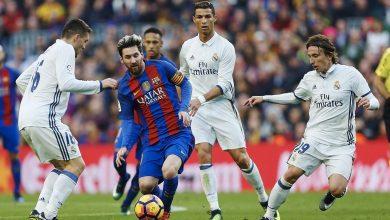 صورة ريال مدريد يواجه برشلونة 26 أكتوبر
