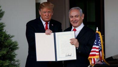 صورة ترامب يبحث مع نتنياهو إمكانية توقيع إتفاقية دفاع مشترك