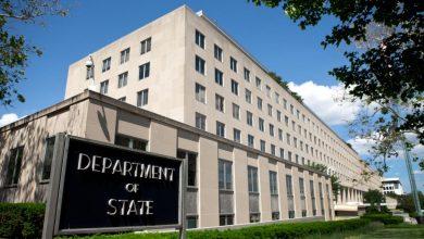 صورة أول إصابة بكورونا في مقر وزارة الخارجية الأمريكية