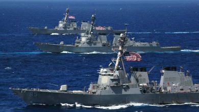 صورة أمريكا تقود أكبر مناورة بحرية في العالم لردع تهديدات الملاحة في الخليج