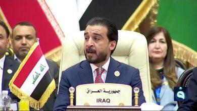 صورة رئيس البرلمان العراقي: إذا لم يتم تنفيذ مطالب المتظاهرين سأنزل للشارع
